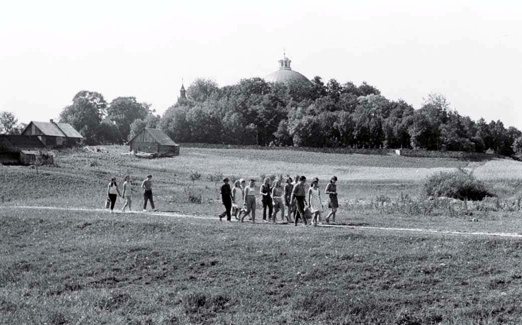 Ramuviečiai Dūkštose, 1970 m.   R. Ozolo nuotr.