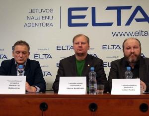 Stanislovas Buškevičius, Marius Kundrotas, Julius Panka | Alkas.lt, J. Vaiškūno nuotr.