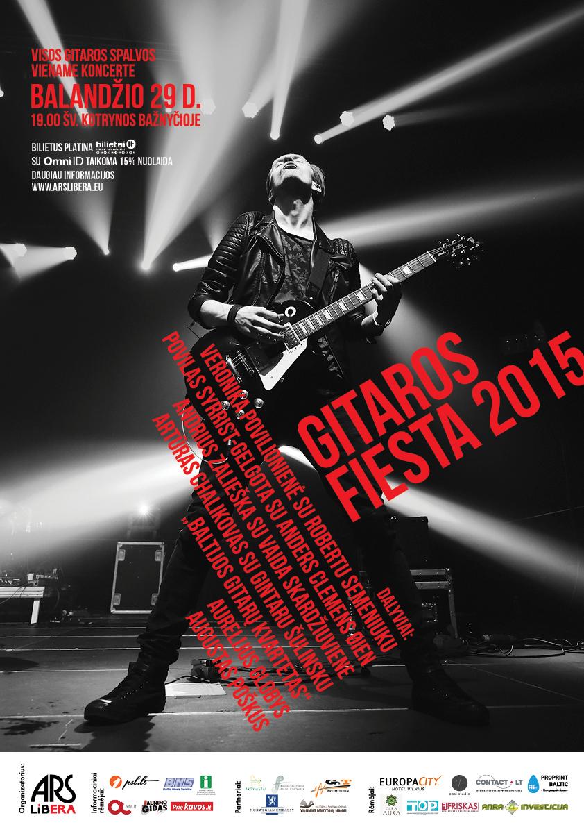 gitaros fiesta_plakatas