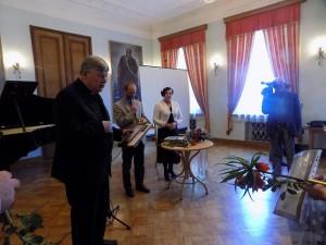 Apdovanojimas prelatui Vytautui Steponui Vaičiūnui | rengėjų nuotr.