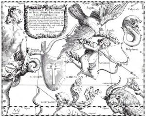 Skydo žvaigždynas Jano Hevelijaus atlase