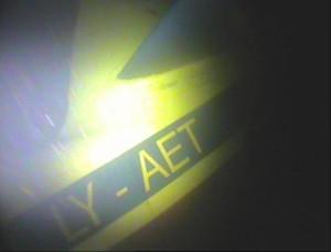 Nuskendusio An-2 lėktuvo fragmentas | Karinių jūrų pajėgų nuotrauka