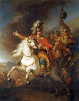 Sobieski J. Bacciarelli Relief of Vienna