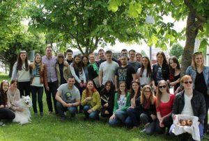 Uzsienio lietuviai studentai