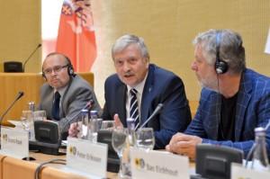 EP narys Bronis Ropė | konferencijos akimirka