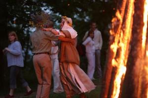 Rasos šventė Verkių parke Vilniuje. 2007 m. | K. Kagio nuotr.