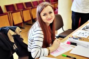 LEU III kurso psichologijos studentė G. Jucevič | asmeninio archyvo nuotr.