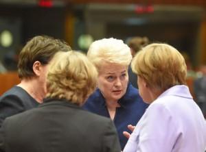 Prezidente Europos vadovu pasitarime_lrp.lt