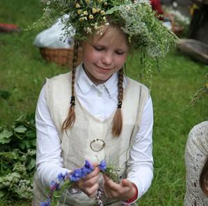 Rasos šventė Verkių parke Vilniuje. 2008 m.  | K. Kagio nuotr.
