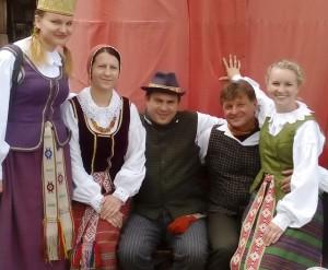 Folkloro ansamblis ALNA Kazimiežo festivalyje