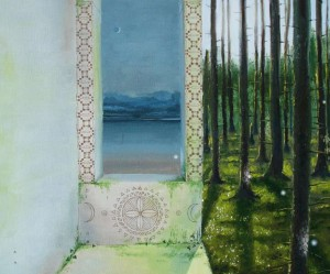 Greenish-Light-Sviesa-pro-zalia-canvas-oil-70x50cm-2012-unesco.lt-nuotr-K100