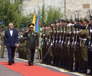 Lietuva remia Azerbaidžano bendradarbiavimą su NATO ir Europos Sąjunga | kam.lt, E. Žygaičio nuotr.