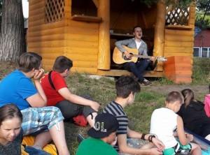 Jaunieji Plungės teatralai gilinasi į teatrinio meno naujoves | rengėjų nuotr.