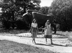 Gaiva ir Daiva, abiem – šešiolika. A. Vaitkevičiaus nuotrauka.