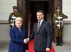 Dalia Grybauskaitė ir Raimondas Vėjuonis|lrp.lt, R. Dačkaus nuotr.