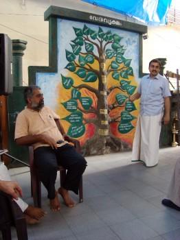 Kašjapos vedų mokymo centre. R. Balkutės nuotrauka.