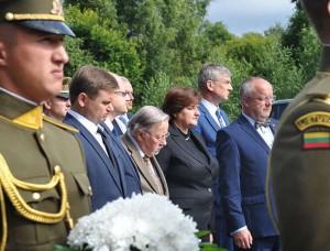 Medininkų žudynių minėjimas    A. Petrulevičius nuotr.