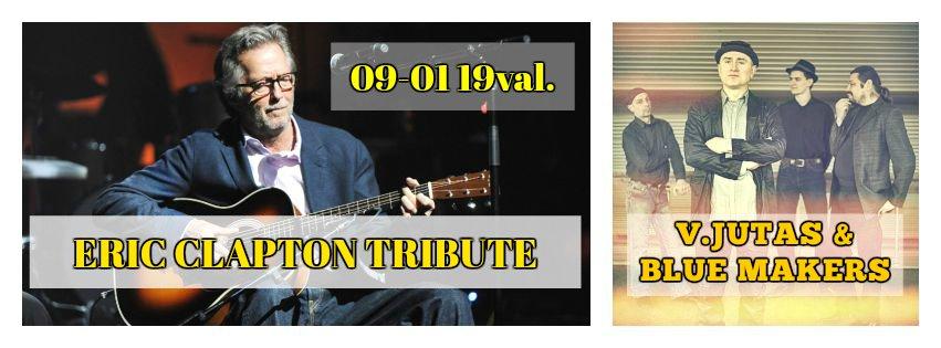 Eric Clapton Tribute, V. Jutas & Blue Makers| piano.lt nuotr.