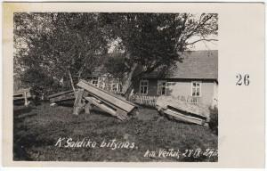 2. K. Galdiko bitynas. Veitų kaimas, 1929-09-28. Nuotrauka iš asmeninės Petro Kaminsko kolekcijos.