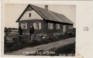 7. J. Seidlickio bitynas. Biržai, 1929-09-14. Nuotrauka iš asmeninės Petro Kaminsko kolekcijos.
