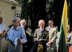 Ukrainos Nepriklausomybės rėmėjai iškilmingai pažymėjo Ukrainos nepriklausomybės dieną | N. Balčiūnienės nuotr.