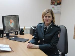 Marijampolės Kazlų Rūdos policijos komisariato vyr spec.Akvilė Krunglevičienė
