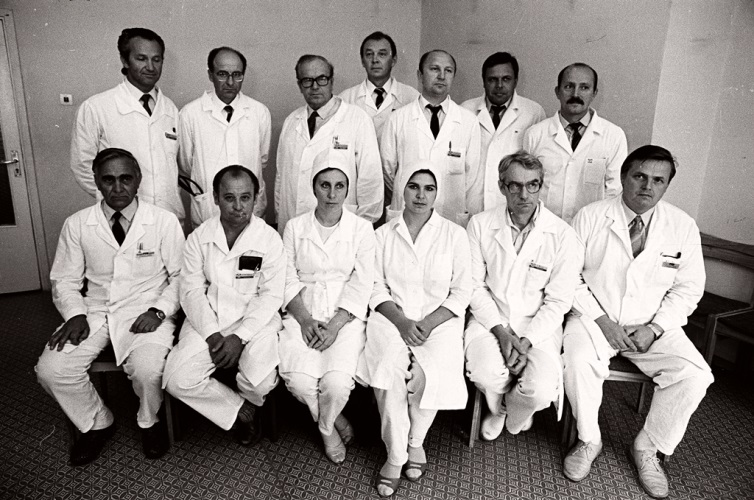 1987 m. pirmosios širdies transplantacijos dalyviai