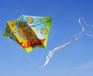 Aitvarų-vėliavų leidimo akcija Palangoje | Rengėjų nuotr.