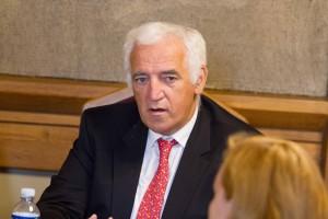 CERN Greitintuvų ir technologijų direktorius Frederikas Bordri | V. Jadzgevičiaus nuotr.