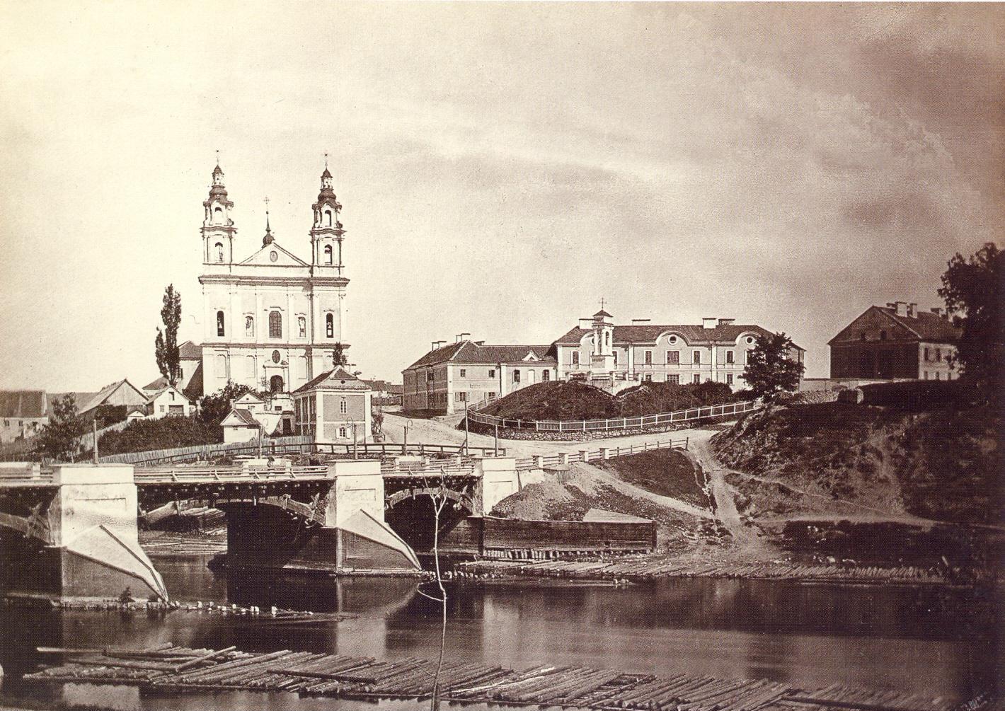 Jozefas-Cechovicius-Zaliasis-tiltas-Sv.Rapolo-baznycia-kalvele-kapai, Jėzaus koplyca.1874 m. Vilniaus fotografija 1858-1915. Vilnius 2001, p. 176.