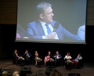 Konferencijos metu | Nacionalinės kūrybinių ir kultūrinių industrijų asociacijos nuotr.