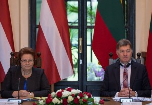 Lietuvos ir Latvijos vyriausybių vadovai Rokiskyje_lrv.lt