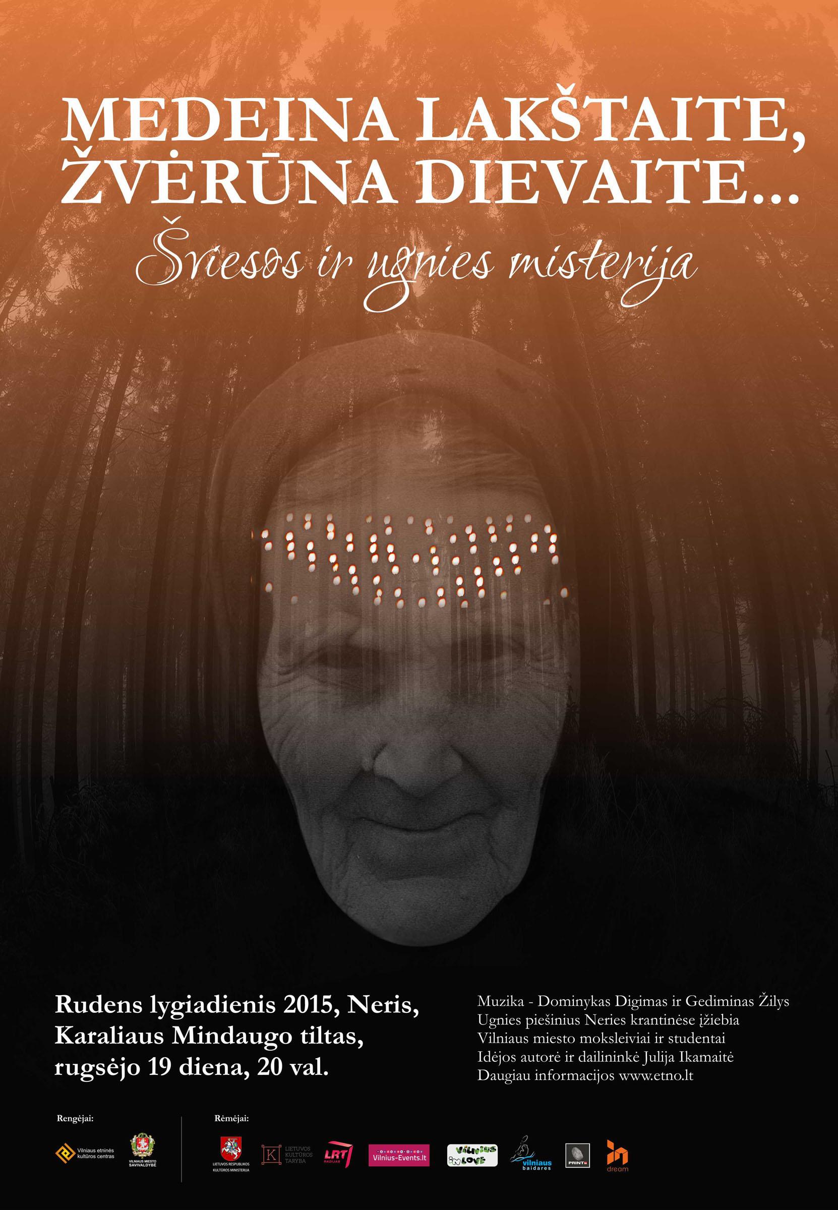 2015 metų Rudens lygiadienio šventės Vilniuje plakatas