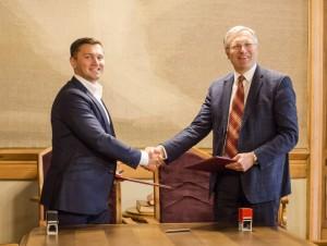 Pasirasyta BA ir VU bendradarbiavimo sutartis_BA nuotr.