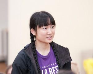 Peng Qiaoyun iš Kinijos   I. Vaitkevičiūtės nuotr.