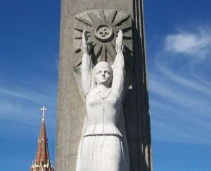 Laisvės paminklas Rokiškyje | wikimedia.org nuotr.