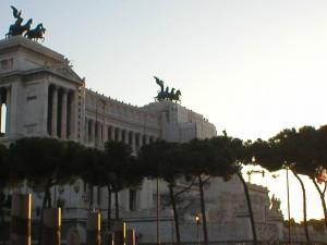 Iš kelionės į Romą. Venecijos aikštė | Nuotrauka iš asmeninio fotoarchyvo.