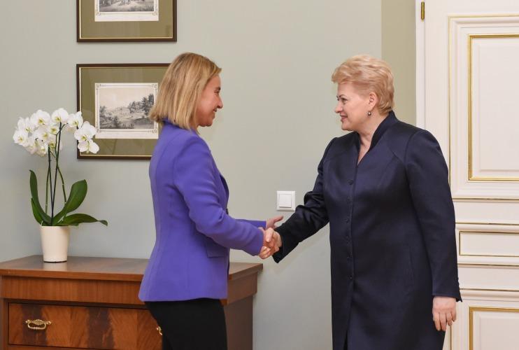 mogerini-ir-grybauskaite-lrp.lt-r.dackaus-nuotr-1