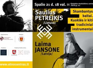 Baltiškasis duetas_plakatas