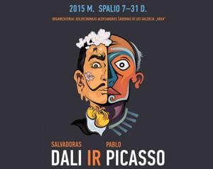 Salvadoro Dali ir Pablo Pikaso darbų paroda | vilnius-events.lt nuotr.