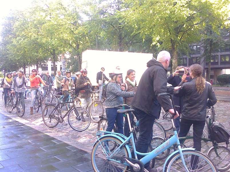 Helsinkyje pilna dviratininku | Jolantos Vaitiekienės nuotr.