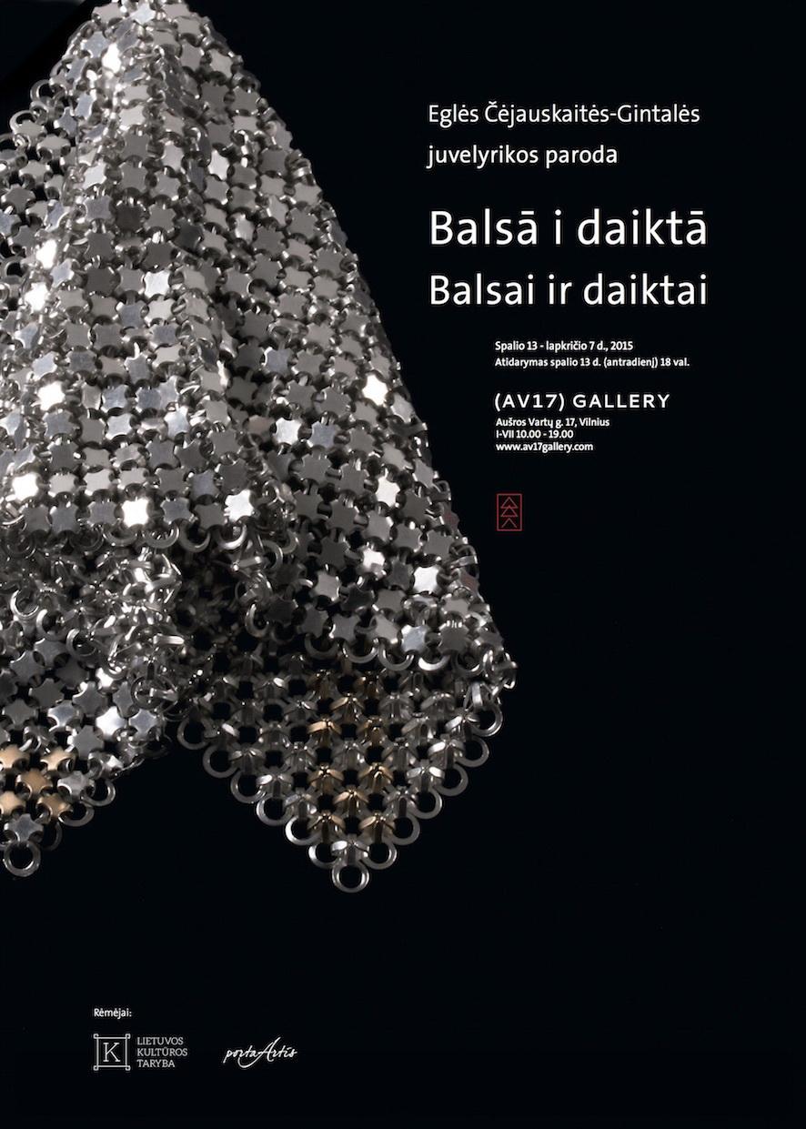 Juvelyriko paroda_Plakatas_Balsai_daiktai