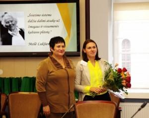Luksienes premijos laimetoja2015Kristina Stankute-Mate_smm nuotr.