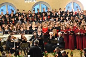 Aukštųjų mokyklų studentų chorų renginys | Lietuvos liaudies kultūros centro nuotr.
