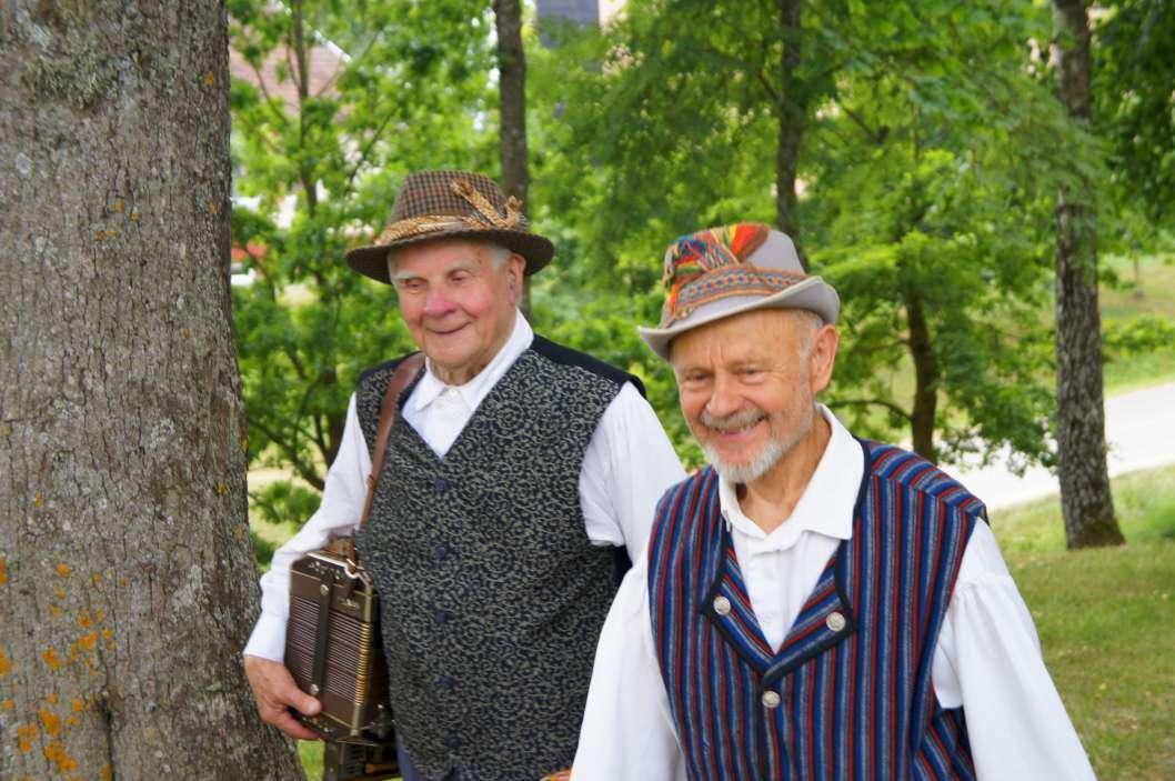 Pirmas iš kairės Gediminas Giriūnas (1934–2015) | G. Pašakarnienės nuotr.