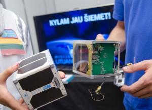 KTU sukurtas nano palydovas LitSat-1_ktu.lt