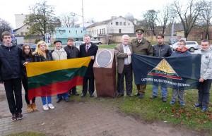 Kauno sajudieciai paminejo Latvijos nepriklausomybes diena1