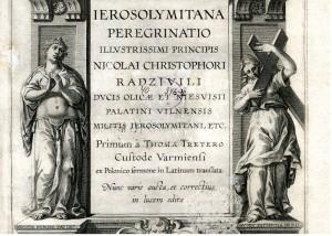 Knygos antraštinis viršelis, saugomas Vrublevskių bibliotekoje