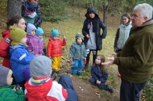 S. Paltanavičius  su vaikais | J. Dapšausko nuotr.