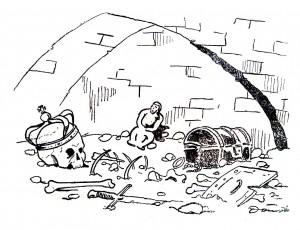 20 pav. Vytauto didžiojo palaikai kriptoje. 1932 04 01